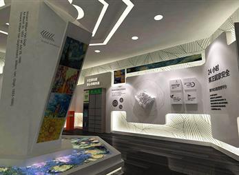紫金庄园展厅设计案例展示
