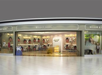 MILLOY KTDS品牌形象店设计案例
