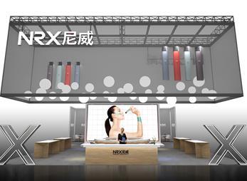 尼威电子烟展台设计案例