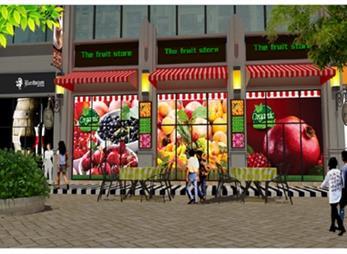 中俊理想城商业街包装