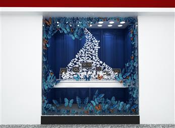 周大福珠宝展柜设计效果图