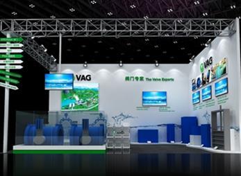 VAG展台设计搭建案例