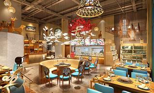 展厅设计公司浅谈主题餐厅设计