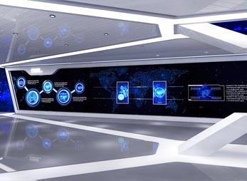 科技展馆设计效果图